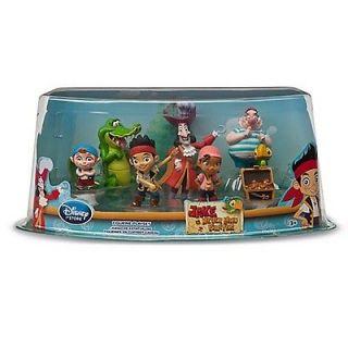 Disney Jake and The Neverland Pirates   Figure Set Jake, Hook, Smee