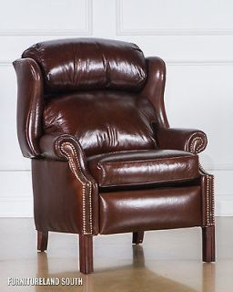 Dante Leather Recliner Chair Glider