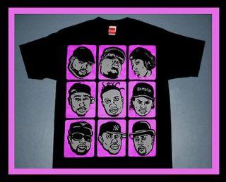 Cajmear Pink Foamposite RIP HIP HOP Big 2pac Pun L ODB shirt shoes