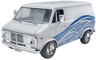 revell 1 24 1977 chevy van plastic model kit expedited