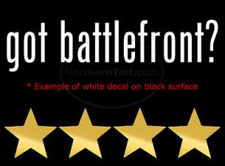 got battlefront vinyl wall art truck car decal sticker more