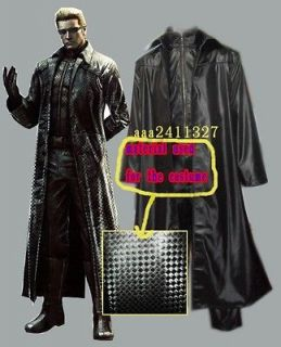 Resident Evil 5 Albert Wesker cosplay halloween costume NEW