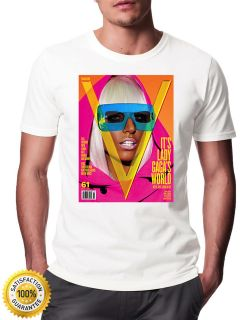 Lady Gaga Pop Star T  Shirt similar to Kate Moss OFWGKTA BIG Supreme