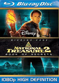 National Treasure 2 Book of Secrets Blu ray Disc, 2008
