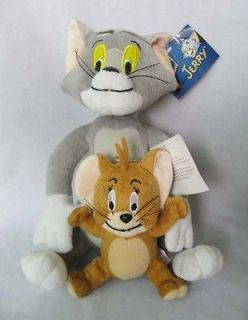 Tom And Jerry Soft Plush Doll Toy NEW 28cm & 15cm  TO
