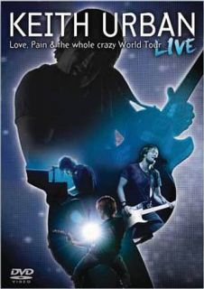 Keith Urban   Love, Pain The Whole Crazy World Tour Live DVD, 2009
