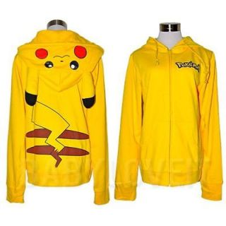 pikachu hoodie in Clothing, Shoes & Accessories