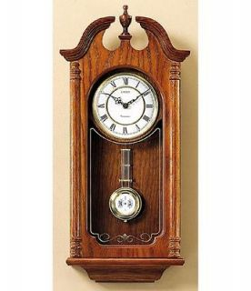 Linden Vintage Westminster Chimes Large Wall Clock (Whitley)