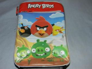 angry birds kids rolling suitcase luggage new