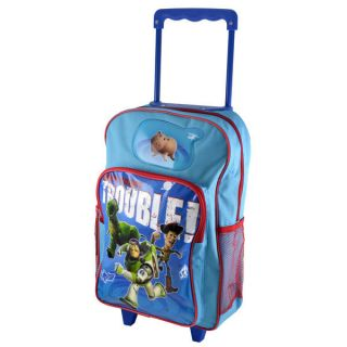 toy story kids trolley backpack bag suitcase luggage free 1st