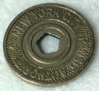 New York City NYC Subway Transit Token Last One in Use 1995 2003