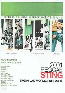 2001 Reggae Sting Live At Jam World Portmore DVD, 2005