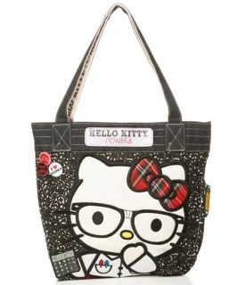 New LOUNGEFLY Hangbag Bag HELLO KITTY Tote Purse SANRIO I LOVE