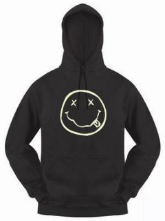 nirvana kurt cobain glow in the dark hoodie top more