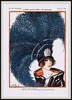 Deco Original Print La Vie Parisienne 1931 G Pavis