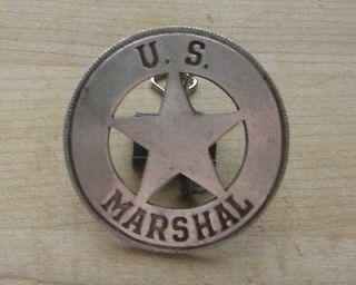 marshall badge b w 20 sheriff western police