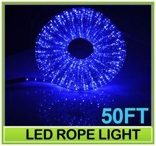 Rope Light Home & Garden Lighting Christmas 110v 2 Wire Outdoor Blue