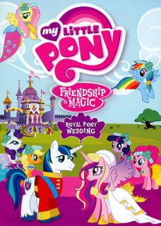 My Little Pony Friendship Is Magic   Royal Pony Wedding DVD, 2012