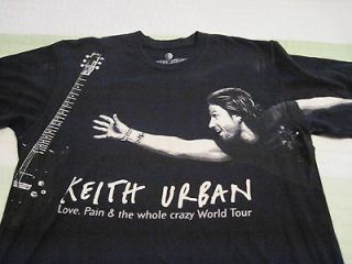 keith urban t shirt in Clothing, Shoes & Accessories