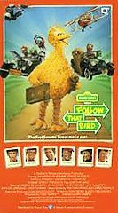 Sesame Street   Follow That Bird VHS, 1996, Clam Shell