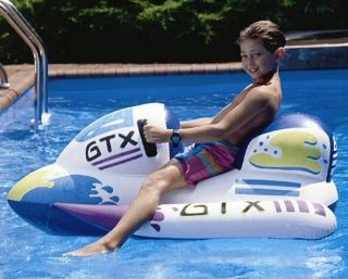 kid inflatable jet ski floating pool ride on toy one day shipping