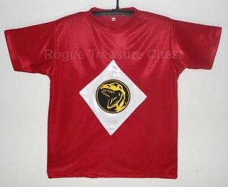 Mighty Morphin Power Rangers Red Ranger T Shirt with Insignia / Logo