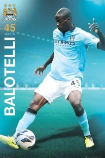 new mario balotelli manchester city football club poster more options