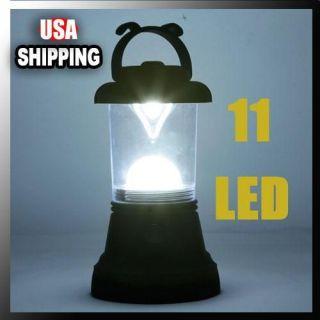 Portable 11 LED Bivouac Camping Lantern Light Lamp Tent Fishing