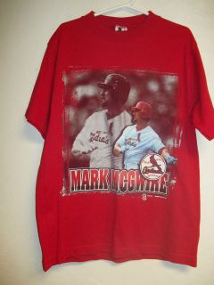 VINTAGE ST. LOUIS CARDINALS MARK McGWIRE SHIRT YOUTH LARGE 14  1 6 NEW