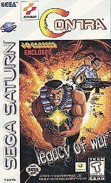 Contra Legacy of War Sega Saturn, 1995