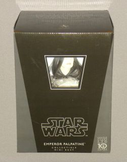 Gentle Giant Star Wars The Emperor Palpatine Statue Figure Collectible