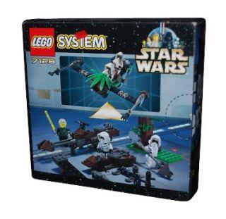 Lego Star Wars Episode IV VI Speeder Bikes 7128