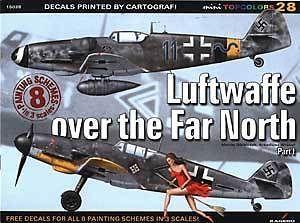 Kagero Book: Luftwaffe Over the Far North Part 1   8 full profiles and