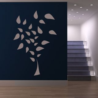 Plant Leaves Nature Tree Wall Art Sticker Wall Decal Transfers