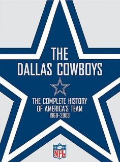 nfl dallas cowboys team history dvd 2003 2 disc set