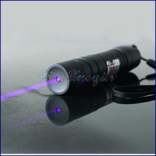 Ghost Hunting 405NM adjustable Focus BURNING Blue violet Laser Pointer