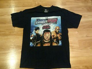 SMACK DOWN VS. RAW 2008 JOHN CENA, UNDERTAKER, BOBBY LASHLEY SHIRT