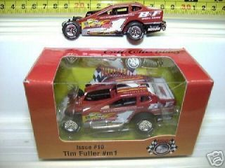 TIM FULLER ISSUE 10 #1m 1/64 DIRT MODIFIED RACE CAR MINT IN MINT BOX