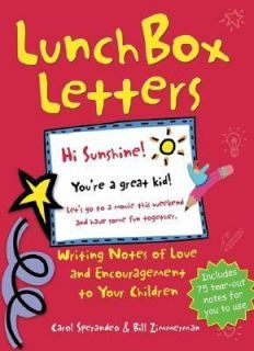Lunch Box Letters Writing Notes of Love and Encouragement to Your
