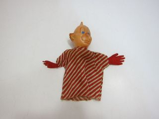 VINTAGE 1950S HOWDY DOODYS FRIEND CLARABELL THE CLOWN HAND PUPPET #1