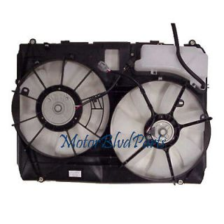 04 06 LEXUS RX 330 TYC REPLACEMENT RADIATOR & CONDENSER COOLING FAN