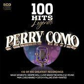 Perry Como LEGENDS 100 HITS BEST OF New Sealed 5 CD BOX SET