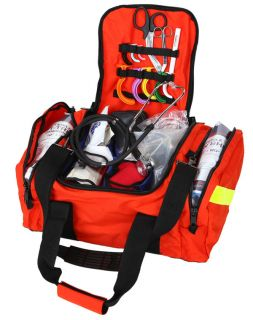 squad trauma bag emt ems paramedic w o contents shown