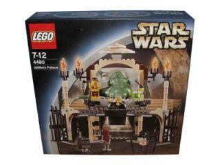 Lego Star Wars Episode IV VI Jabbas Palace 4480