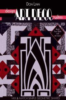 Design Art Deco Quilts by Don Linn 2010, Paperback