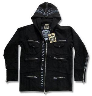 harley davidson hoodie in Clothing,