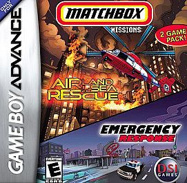 Matchbox Missions Air, Land Sea Rescue Emergency Response Nintendo