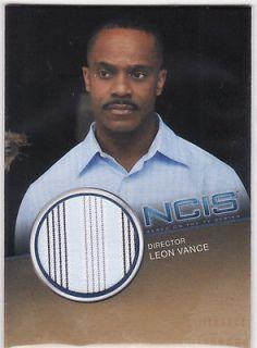 NCIS 2012 PREMIUM COSTUME CC4 DIRECTOR LEON VANCE #ed/500