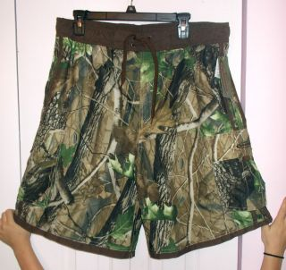 NWT Mens size XL Team Realtree Hardwood Camo Cargo Hunting Shorts