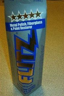 Flitz Metal Polish, Fiberglass and Paint Restorer 5.29oz 243604